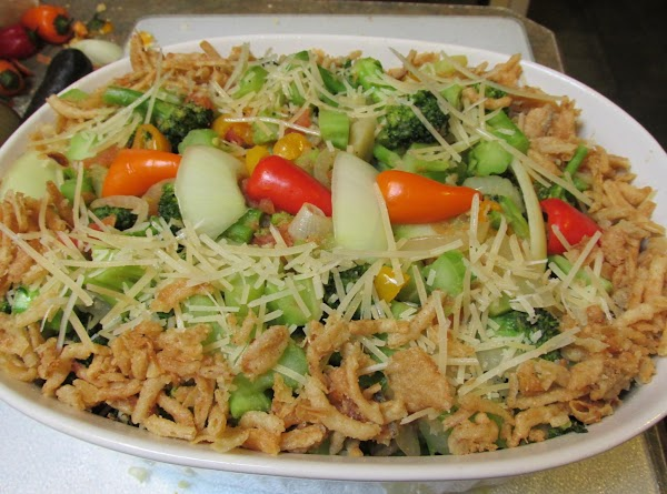 Broccoli Rainbow Mini Swt  Peppers, Tom & Onions Recipe