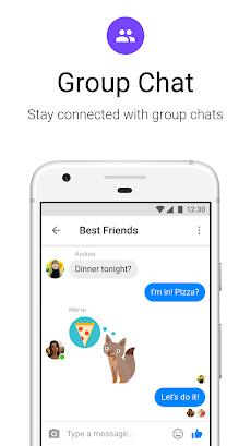 Messenger Lite:無料通話とメッセージのおすすめ画像4