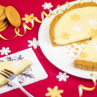 No Bake 4 Ingredient White Christmas Tart Recipe