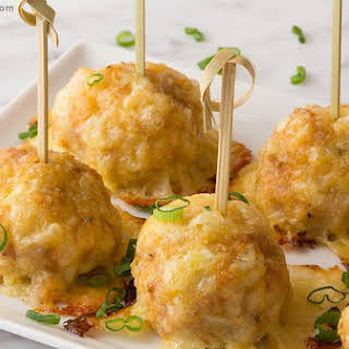 Low Carb Chicken Sausage Meatballs.