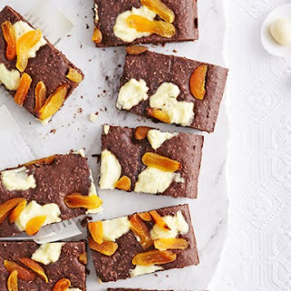 Chocolate, Ricotta and Apricot Slice Recipe