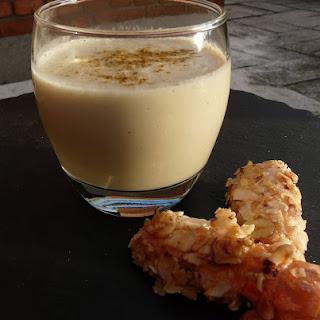 Cream of Cauliflower with Hazelnut Cristed Langoustines.