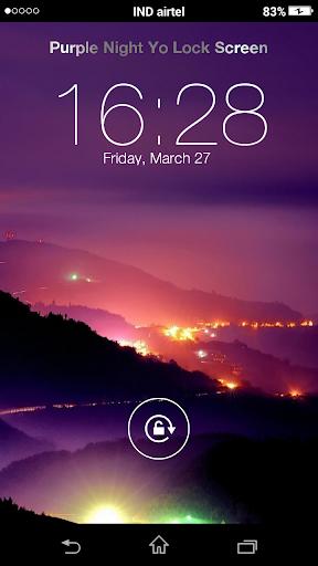 Purple Night Yo Locker HD