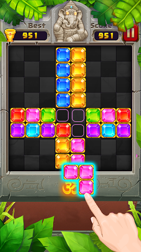 Block Puzzle u2013 Jewel Games in Temple 1.2.0 screenshots 3