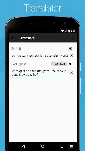Portuguese English Dictionary screenshot 7