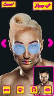 Make Me Girl Photo Editor - Makeup For Men - náhled