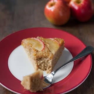 Apple Honey Upside-Down Cake.