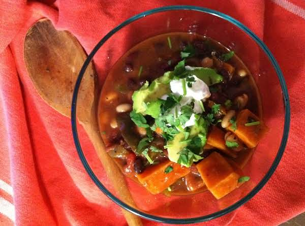 Topped With Plain Yogurt, Avocado And Cilantro, This Chili Is The Best.