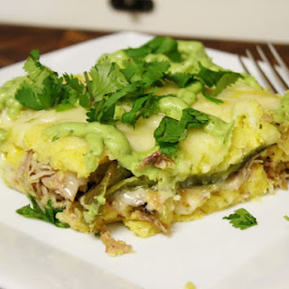 Pulled Pork Tamale Bake