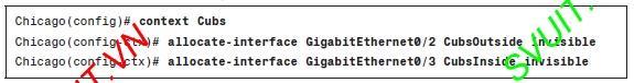 Config Virtual firewall Cisco ASA(6)