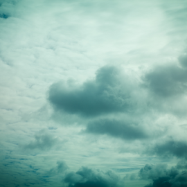 Dramatic Clouds by Laura Drake Enberg - Landscapes Cloud Formations ( canon, stormy, abstract, clouds, moods, nature, blue, heaven, cloudscape, weather, landscape, blues )