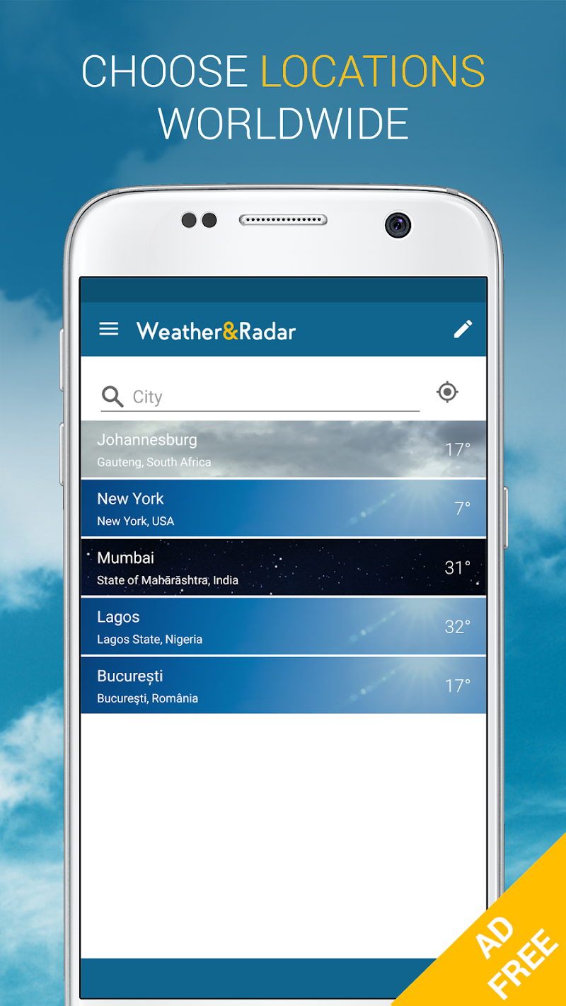 Weather & Radar Pro - Ad-Free Screenshot 3