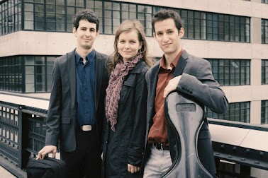 Lysander Piano Trio:  Itamar Zorman, violin Liza Stepanova, piano Michael Katz, cello