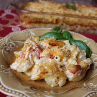 Redneck Mac 'n Cheese Casserole