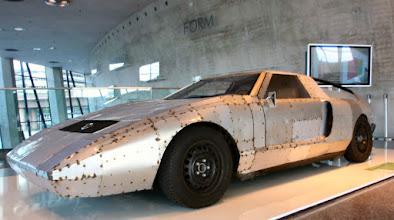 Photo: C 111 Rennversion im Mercedes-Benz Museum Stuttgart