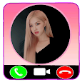 Rose Blackpink Calling - Fake Video Call icon