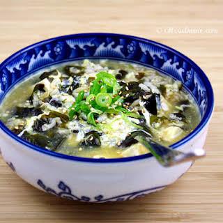 Miyeok Juk – Korean Sea Vegetable Porridge.