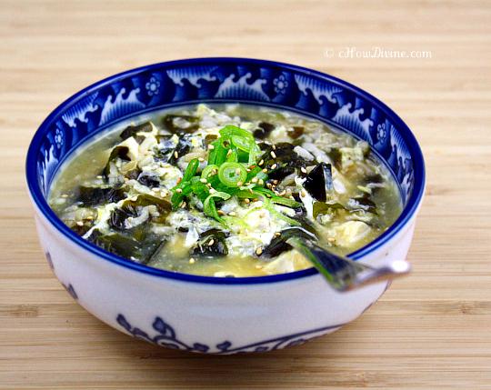 Miyeok Juk – Korean Sea Vegetable Porridge