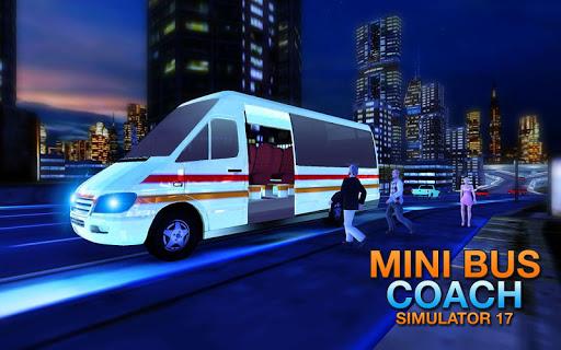 Mini Bus Coach Simulator 17 - Driving Challenger 1.3 screenshots 1