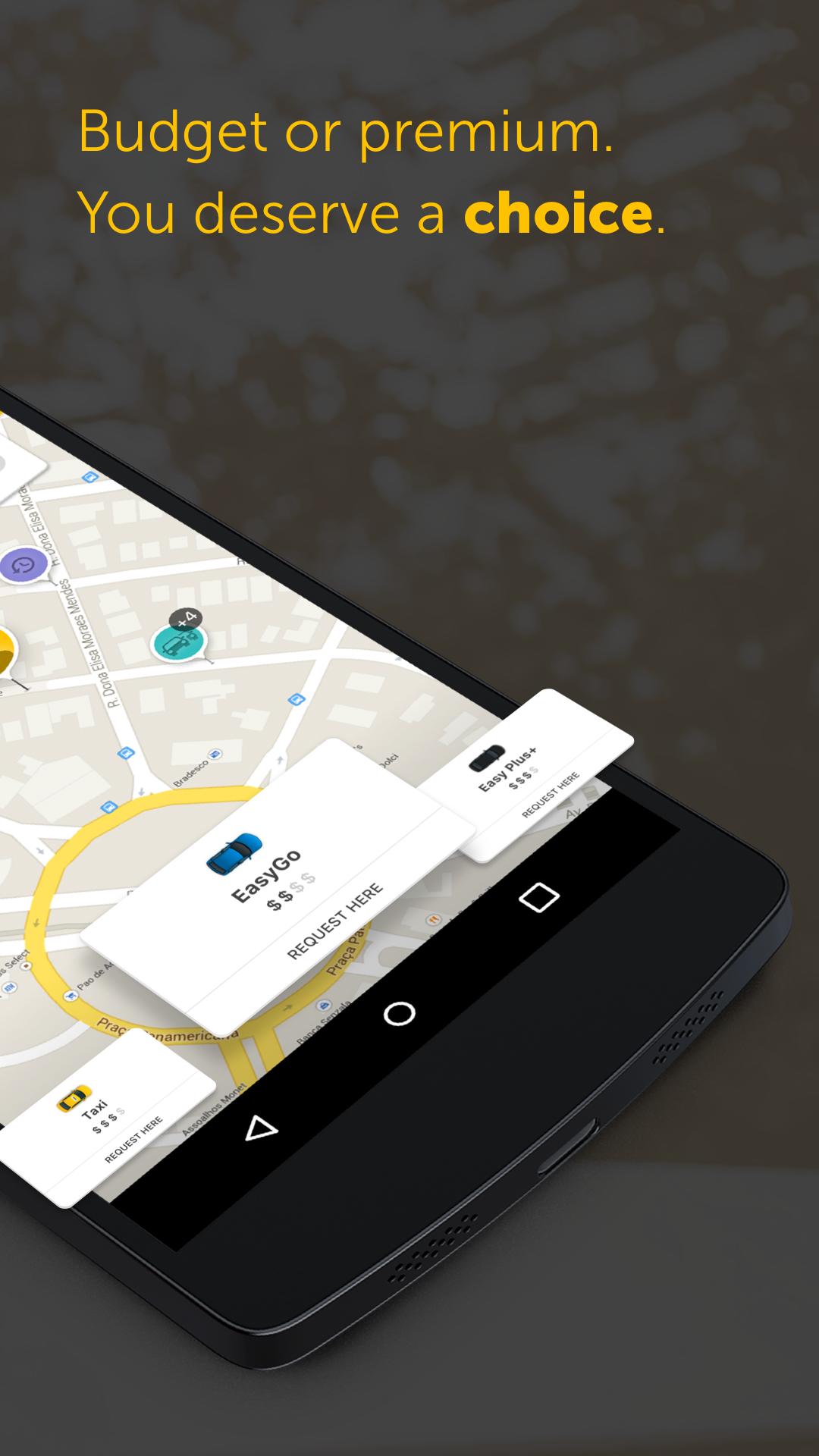 Easy - taxi, car, ridesharing screenshot #2