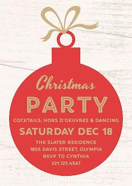 Xmas Cocktails & Dancing - Christmas Card item