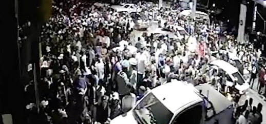 Watch Shocking Cctv Shows Crime Chaos At Sasol Garage After