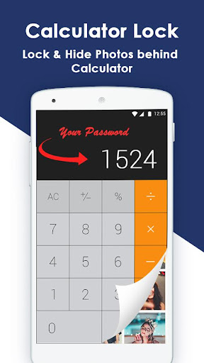 Calculator Gallery Lock - Photo Vault 1.0 screenshots 2