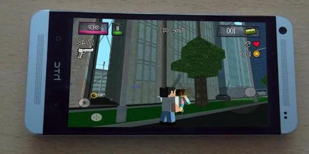 Cops 'n' Robbers Pixel - náhled