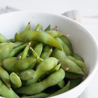Basic Edamame - Healthy Vegan Snack.