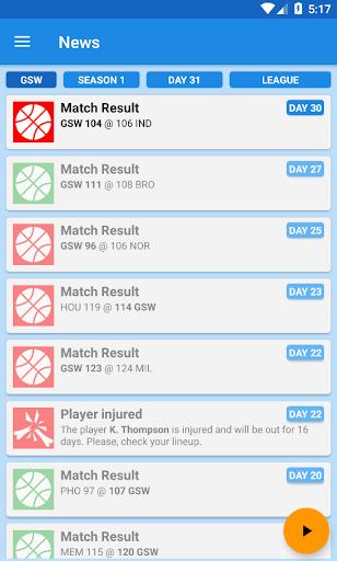 Basket Manager 2018 Free 3.4 screenshots 3