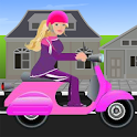 Miss Barbie Scooter Ride icon