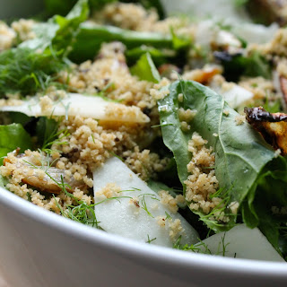 Arugula & Caramelized Fennel Salad with Toasted Breadcrumbs