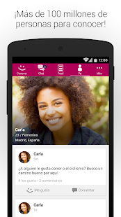 MeetMe - ¡Chatea y conoce gente nueva en vivo! Screenshot