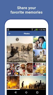 Facebook Lite Capture d'écran