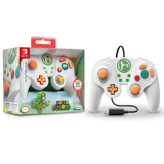 PDP Switch Wired Fight Pad Pro -Yoshi