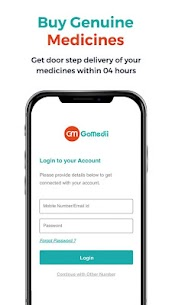 GoMedii – Medicines Delivery, Doctor's Appointment App Download For Android and iPhone 2