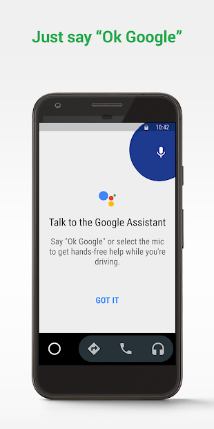 Android Auto - Google Maps, Media & Messaging Android App Screenshot