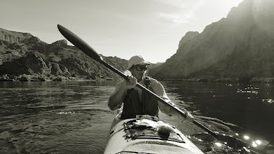 Photo: Paddling in the Black Canyon