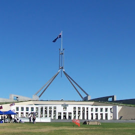 New Parliament House by Sarah Harding - Novices Only Street & Candid ( building, iconic, novices only, architecture, historic, city,  )