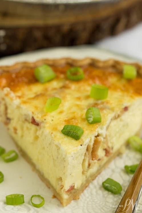 Click Here for Recipe: Bacon Havarti Quiche Recipe