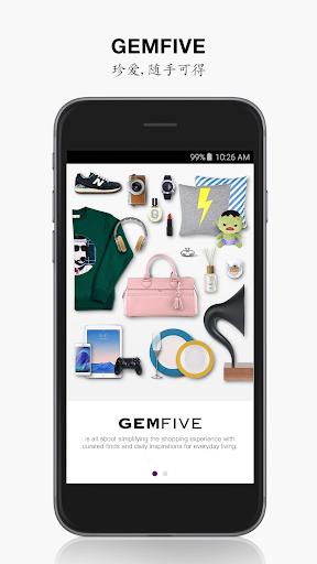 GEMFIVE - 便捷时尚购物商城