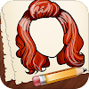 How To Draw Hairstyles- easy🖌