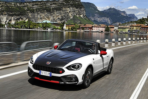 The Abarth 124 Spider will be a rare sight on our roads.    Picture: NEWSPRESS UK