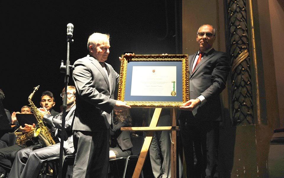 Banda Marcial de Cambres agraciada com Medalha de Ouro de Lamego