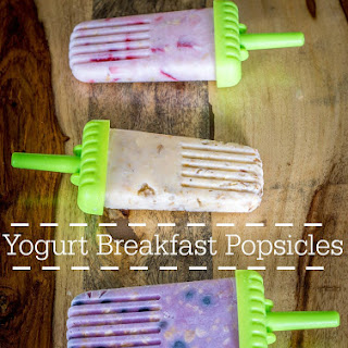 Breakfast Yogurt Popsicles