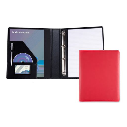 A4 Ringbinder P.U. Leather