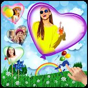 Photo Balloons Live Wallpaper