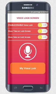 Voice Screen Lock - Voice Lock - náhled