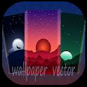 wallpaper vector - Vector Art Wallpaper icon