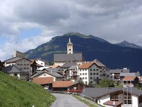 Photo: Graubünden, Stierva - Dorfeingang